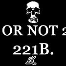 2B OR NOT 2B? 221B by ShubhangiK