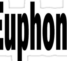 Euphonium Sticker