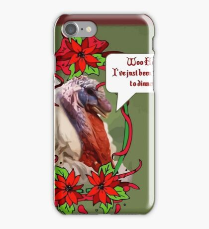 Woo Hoo - I've Been Invited to Dinner iPhone Case/Skin