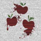 Apple Jack Cutie Mark Grain & Splatter by ZincSpoon