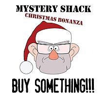 A Mystery Shack Christmas Photographic Print