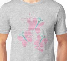 Fluttershy Cutie Mark Grain & Splatter Unisex T-Shirt