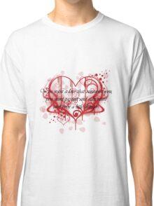 Damon's Love Quote Classic T-Shirt