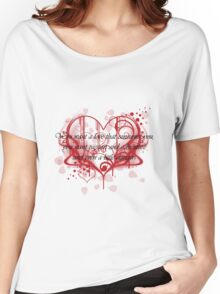 Damon's Love Quote Women's Relaxed Fit T-Shirt