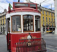 Old Tram in Lisbon by julie08