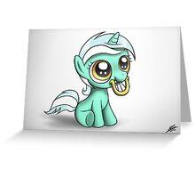 Filly Lyra Greeting Card