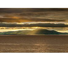 Criffel Rays Photographic Print
