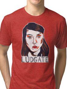Aubrey Plaza/April Ludgate Portrait Tri-blend T-Shirt