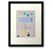 Copa. Framed Print