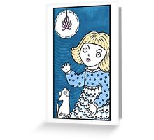 Muffet Greeting Card