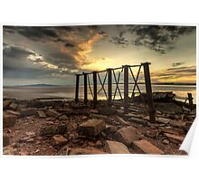Bowness Viaduct Sunset Poster