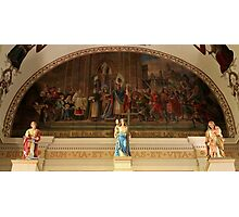 St. Louis Cathedral's Artwork Over The Altar In Nola Photographic Print