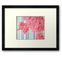 contrast blossoms Framed Print