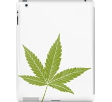 happy leaf iPad Case/Skin