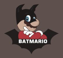 BATMARIO - Batman Mario Mashup Kids Clothes