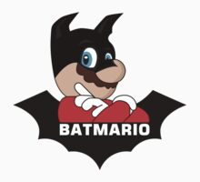 BATMARIO - Batman Mario Mashup One Piece - Long Sleeve