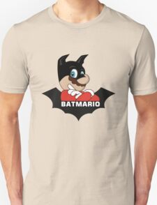 BATMARIO - Batman Mario Mashup Unisex T-Shirt