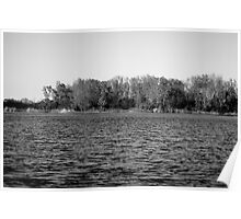 The Black and White Lake Poster