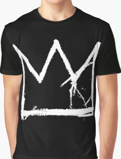 Basquiat King Crown Graphic T-Shirt