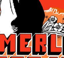 Merle Haggard Shirt Sticker