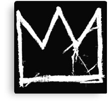 Basquiat King Crown Canvas Print