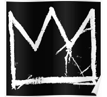 Basquiat King Crown Poster