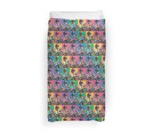 Luigi Rainbow Pattern Duvet Cover