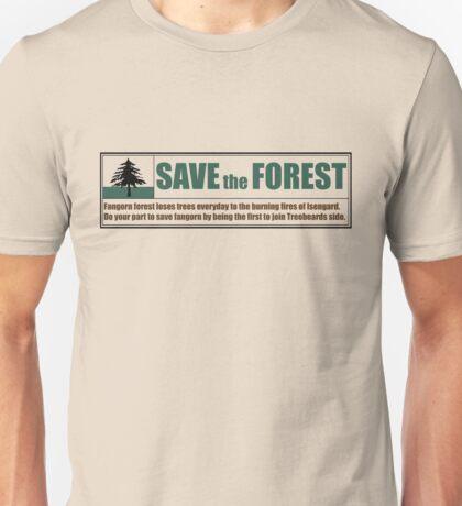 Save Fangorn Unisex T-Shirt
