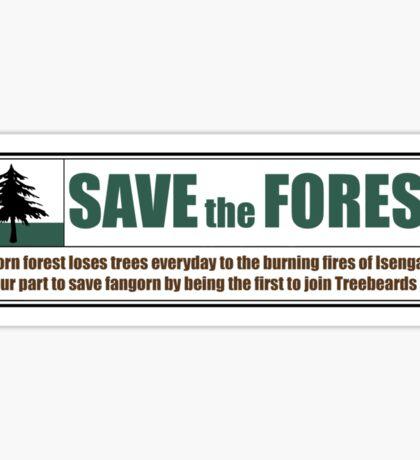 Save Fangorn Sticker