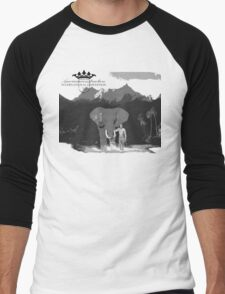 Elephant Expedition Men's Baseball ¾ T-Shirt