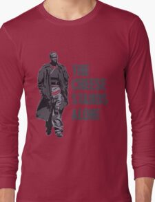 Omar Little - The Cheese Stands Alone Long Sleeve T-Shirt