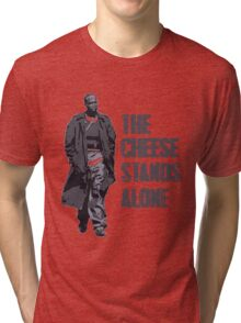 Omar Little - The Cheese Stands Alone Tri-blend T-Shirt