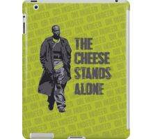 Omar Little - The Cheese Stands Alone iPad Case/Skin