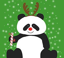 Merry Christmas, Panda! by houseOfunk