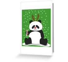Merry Christmas, Panda! Greeting Card