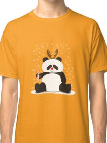 Merry Christmas, Panda! Classic T-Shirt
