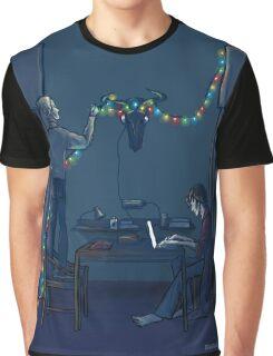 Christmas Lights Graphic T-Shirt