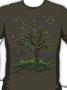 Neon Night Tree T-Shirt