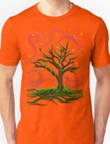 Neon Night Tree Unisex T-Shirt