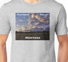 Spring Sunset, Evergreen Montana Unisex T-Shirt