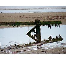 Water breaker Photographic Print