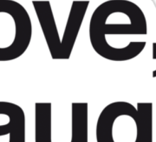 Live , love , laugh and surf Sticker