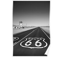 Route 66 Shield Poster