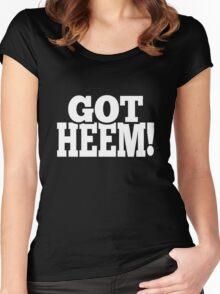 Got Heem Women's Fitted Scoop T-Shirt