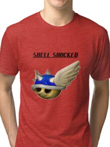 shell shocked Tri-blend T-Shirt