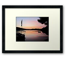 Maine Vacation Framed Print