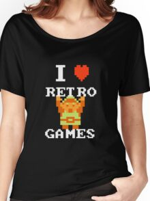 I Love Retro Games (Link) Women's Relaxed Fit T-Shirt