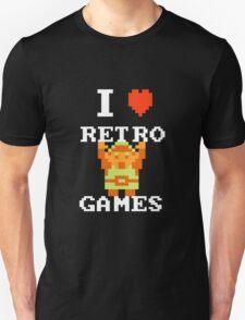 I Love Retro Games (Link) T-Shirt
