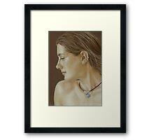Jessie Sketch Framed Print