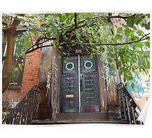 Door in East Village 3 Poster